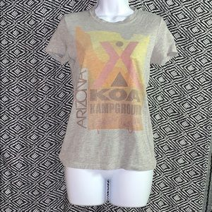 Heritage 1981 T-shirt camp forever 21 print